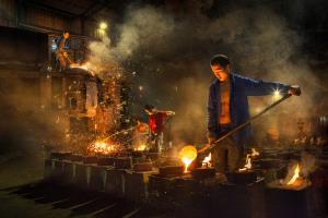 PhotoVivo Bronze Medal - Hiu Wan Yeung (Hong Kong)Steel Refinery