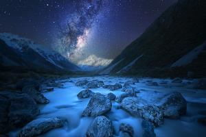 PSA Gold Medal - Raymond Liang (Australia)Mt Cook Milky Way