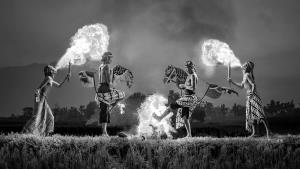 PhotoVivo Honor Mention - Kristanto Lie (Indonesia)Fire Dance