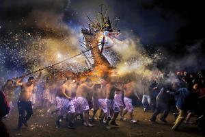 PhotoVivo Silver Medal - Tak Cheong Pun (Macau)Firework Dragon
