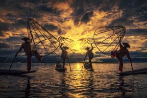 SPC Merit Award - Fengliang Zou (China)  Fishermen
