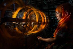 SPC Silver Medal - Tikumporn Seneevat (Thailand)  Weaving