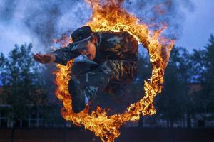 PhotoVivo Gold Medal - Juan Cao (China)  Through The Fire Cycle