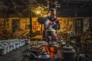 SPC Merit Award - Linqun Yuan (China)  Time In Teahouse