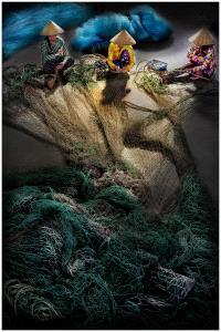 SPC Bronze Medal - Yan Tsang (USA)  Making Fishing Nets Together