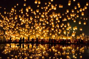 IUP Silver Medal - Ling Hou (China)  Sky Lantern Wish