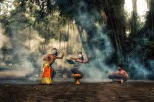 PSA HM Ribbons - Pui-Chung Yee (Singapore)  Bali Mask Dance