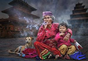 PhotoVivo Gold Medal - Arnaldo Paulo Che (Hong Kong)  The Widow And The Orphan