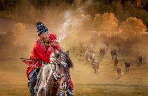 PSA Gold Medal - Wendy Wai Man Lam (Hong Kong)  Horseman