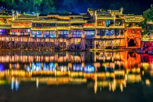 PhotoVivo Gold Medal - Yonghong Jin (China)  Phoenix - Western Historical City 4