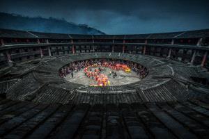 PhotoVivo Gold Medal - Xiaohui Qiu (China)  The Tulou's Festival(2)
