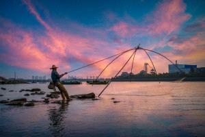 PhotoVivo Gold Medal - Rongmao Yang (China)  Fishing Life