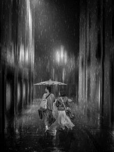APU Honor Mention e-certificate - Pandula Bandara (Sri Lanka)  Walking In Rain