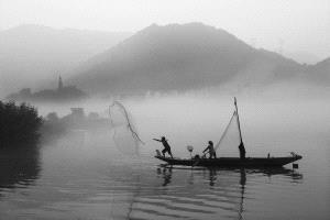 APAS Honor Mention e-certificate - Liang Wu (China)  Fishing