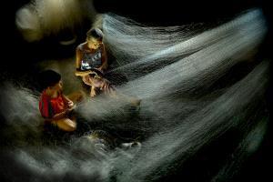 SPC Merit Award e-certificate - Le Cong Binh (Vietnam)  Mending Their Nets.