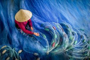 APU Gold Medal - Chin Leong Teo (Singapore)  Blue Fishing Nets 2