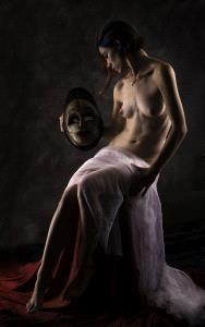 PhotoVivo Gold Medal - Peter Gedeon (USA)  The White Mask