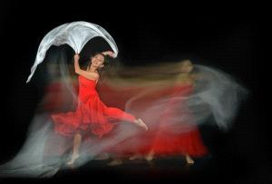 PhotoVivo Honor Mention e-certificate - Joon Yow Chong (Singapore)  3. Red Dress Dancing 2