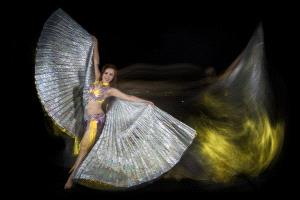 APAS Gold Medal - Khaing Sandar Tin (Singapore)  Belly Dancer 11