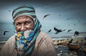 ICPE Honor Mention e-certificate - Shihong Chen (China)  Seaside Old Woman
